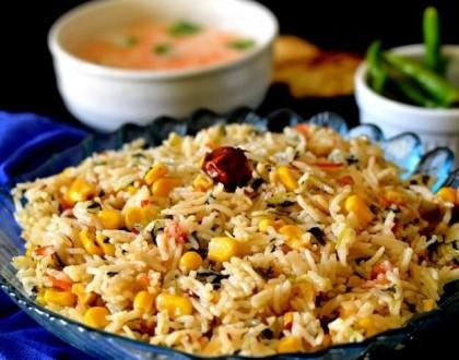 Corn Methi Pulav